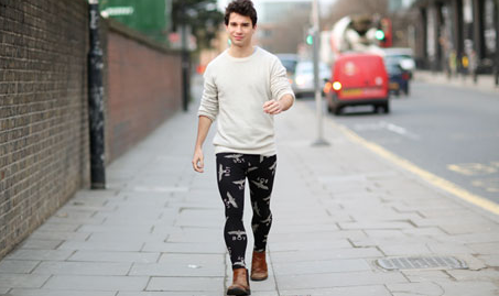 Image Credit, Patrick Kingsley, http://www.guardian.co.uk/fashion/shortcuts/2012/dec/10/leggings-for-men-meggings-trend