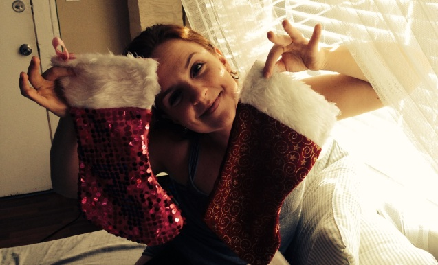 sequin christmas stockings